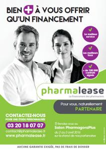 Retrouvez Pharmalease à Pharmagora +
